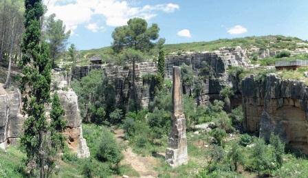 Canteras antiguas de la Península Ibérica